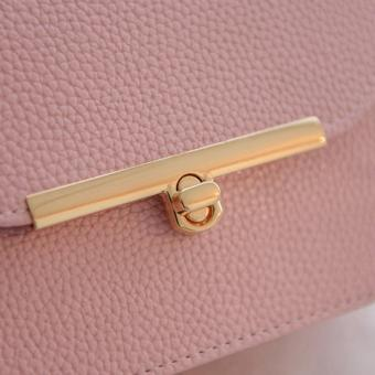 2016 new spring snake leather embossed fashion Women bag chainCrossbody Bag Brand Designer Messenger Bag Cute flap shoulder Bag -intl - 5
