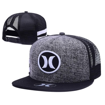 2017 Casual Snapback Hurley Cap Adjustable Sport Hat - intl