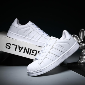 2017 Men and Women Fashion Casual Sports Shoes-White - intl Price Philippines