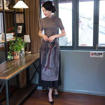 2017 new aodai cheongsam dress Maxi Dresses Formal Dress - intl - 2