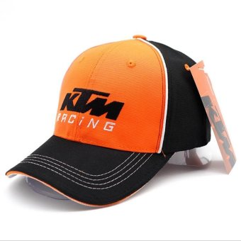 2017 New Moto GP KTM Cap Racing Snapback Hat Sport Outdoor Cap Adjustable Baseball Cap - intl