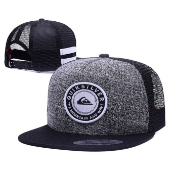 2017 New Style Fashion Snapback Quiksilver Cap Adjustable Sport Hat - intl