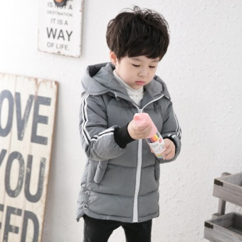 2017 New Winter Girls Kids Boys Thick Hooded Coat Jacket DownComfortable Cute Clothes Children Clothing - intl