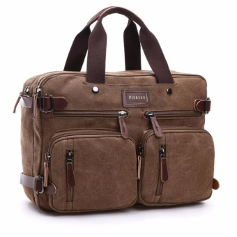 3 IN 1 TOTE BAG / SHOULDER BAG / BACKPACK / LAPTOP BAG / MESSENGER BAG MG8691 PIERSON [COFFEE] Price Philippines