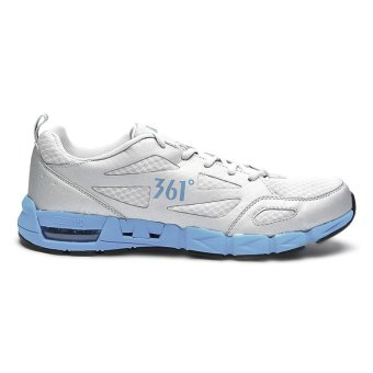 361 Degrees Air-flex Running Shoes (Light Grey/Blue) - picture 2