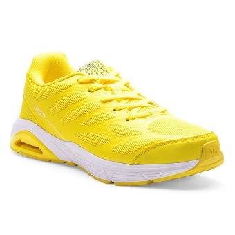 361 Degrees NFO Pro Running Shoes (Light Yellow/White)