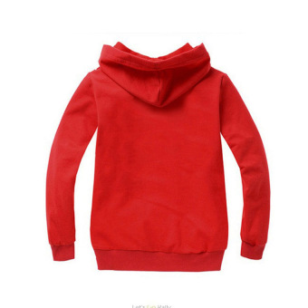 'Paw Patrol 3-10 Years Old 95-135cm Hight Boy or Girls'' Long-sleeved Cardigan Sweaters(Color:Red)' - 2