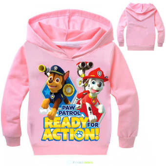 'Paw Patrol 3-10 Years Old 95-135cm Hight Boy or Girls'' Long-sleeved Cardigan Sweaters(Color:Red)' - 5