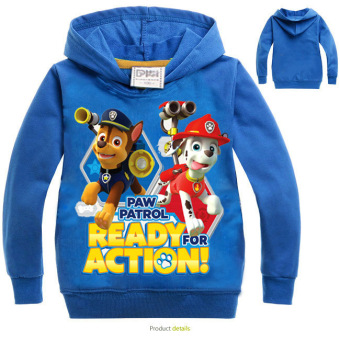 'Paw Patrol 3-10 Years Old 95-135cm Hight Boy or Girls'' Long-sleeved Cardigan Sweaters(Color:Red)' - 4