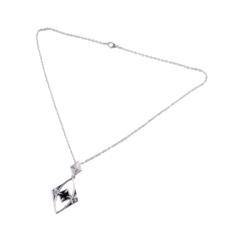 433517 Elements Hollow Necklace (Silver)