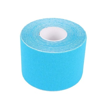 5cm*5m Exercise Bandage Cotton Waterproof Breathable Kinesio Tapes(Light Blue) - intl Price Philippines