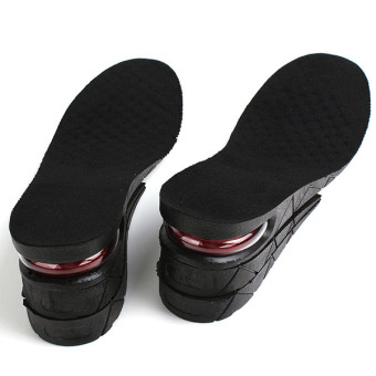 6cm Men Shoe Insole Air Cushion Heel insert Increase Taller Height Lift 3-Layer
