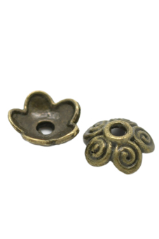 8YEARS Beads Caps Set of 100 (Bronze)