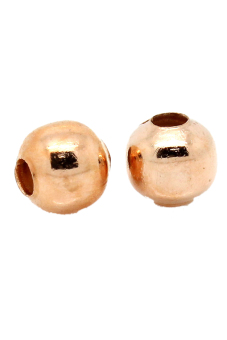 8YEARS Metal Beads Set of 1000 (Rose Gold)
