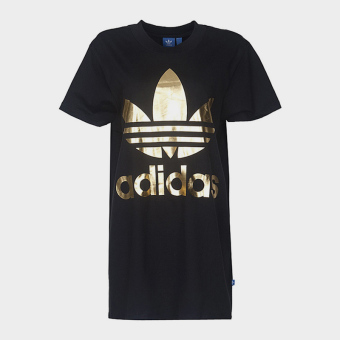 Adidas br9740 fashion rib clover summer T-shirt
