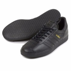 ADIDAS GAZELLE BB5497 Men\u0027s Shoes (CBLACK/CBLACK/GOLDMT)