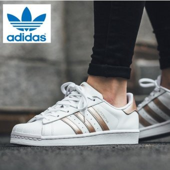 Adidas Originals Superstar BA8169 White/Rose Gold - intl