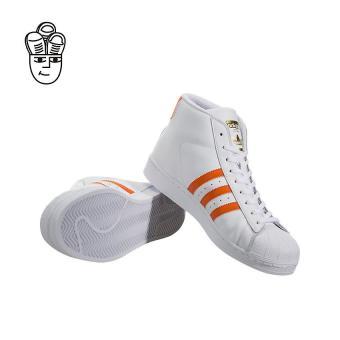 Adidas Pro Model Retro Basketball Shoes White / Orange-Gold by3729 -SH - 3