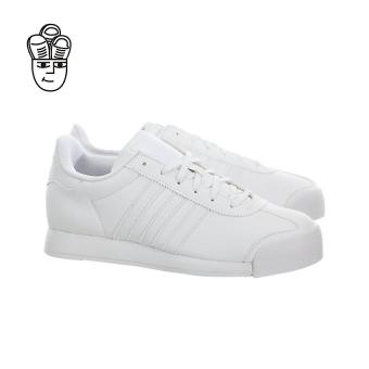 Adidas Samoa Retro Shoes (White / White-Light Grey) aq7916 -SH