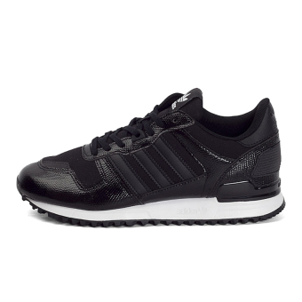 Adidas zx700/ba9981 clover Women's casual shoes Adidas athletic shoes (1 No. Black/1 No. black/white)