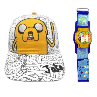 Adventure Time Kid's Cap 52cm with Bubble Watch