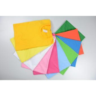 AIIZ UNISEX Plain T-Shirt (Yellow) - 2