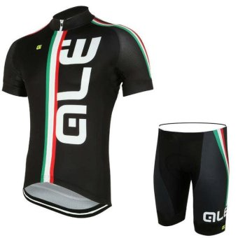 ALE Cycling Clothing Summer Men Cycling Jerseys Bike ClothingBicycle Short Breathable Sportwear Bike Clothes X34-03 - intl