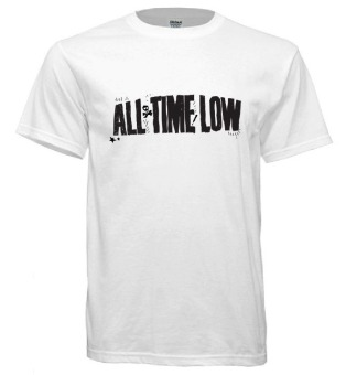 All Time Low Band Series Men's T-Shirt (White)