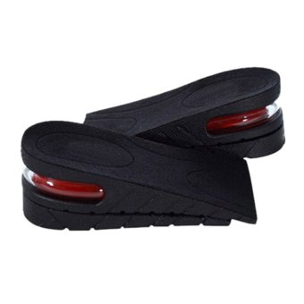 Amango Men Women Shoe Insole Air Cushion Heel insert Increase Taller Height Lift 5cm