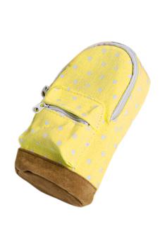 Amango School bag Pencil Case Yellow