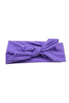 Amango Wide Headband (Purple)