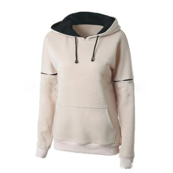 Amart Fashion Women Full Sleeve Slim Hooded Pullover with Pockets Hoodies Tops
