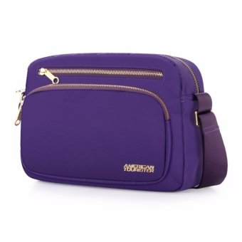 American Tourister Vicinity FM II Horizontal Shoulder Bag S (Purple) - 2