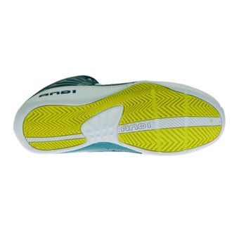And1 Rocket 4.0 Junior Basketball Shoes (Blue/Yellow) - 4