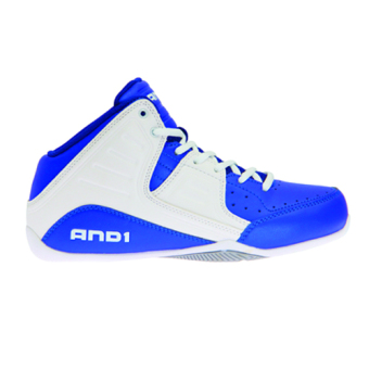 And1 Rocket 4.0 Men's Basketball Shoes (White/Silver)