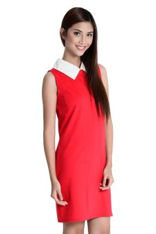 Anne Dress By Fashion Haus Online (Red)