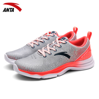 ANTA female genuine soft technology running shoes fitness shoes (12637710-1)