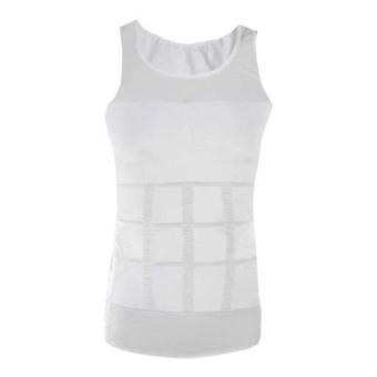 As Seen on TV Slim n Lift Men's Slimming Vest Large (White)