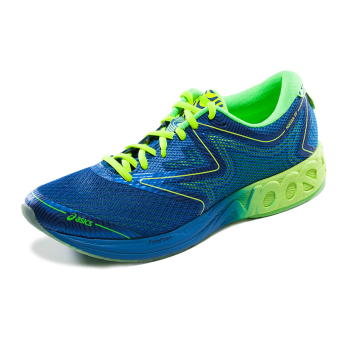 ASICs t722n-9085 New style wear and breathable professional sports shoes (Blue/yellow/green)