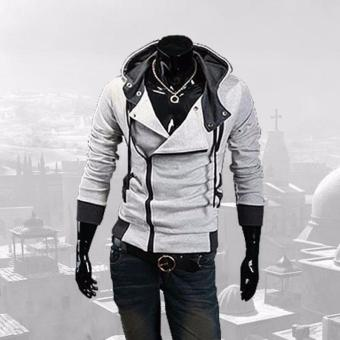 Assassin's Creed Hoodie Jacket (white&grey)