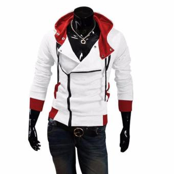 Assassin's Creed Hoodie Jacket (White and Red)