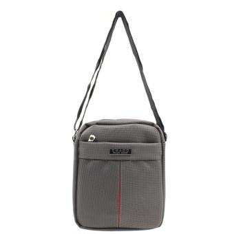 Attraxion Chado Sling Crossbody Bag for Men (Gray/Black) - 3
