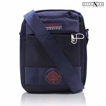 Attraxion Duncan - 0007 Sling Crossbody Bag for Men (Blue)