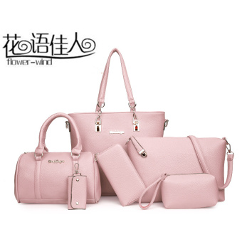 Autumn and Winter New style big bag women's bag (Pink)