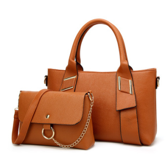 Autumn and Winter New Style Large Bag women's bag (Brown)