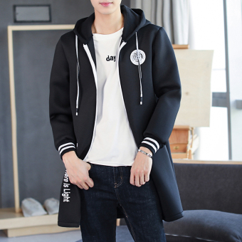 Autumn New style men's casual jacket (Black)