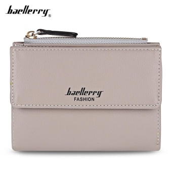 Baellerry Stylish PU Leather Card Holder Short Wallet Coin Pursefor Women - intl