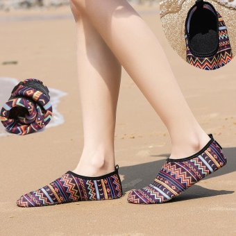 Barefoot Beach Feet Protection Shoes Women Girls Fasion Quick-DryWater Shoes Lightweight Aqua Socks For Beach Pool Surf YogaExploration Exercise - intl