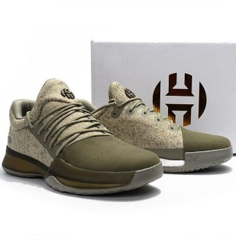 Basketball Shoes For Harden Vol 1 Boost Low Men (Khaki) - intl