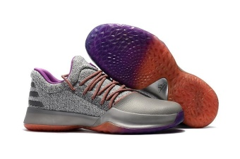 Basketball Shoes Harden Vol.1 Low Help Men's Sneaker New Running (Grey ) - intl